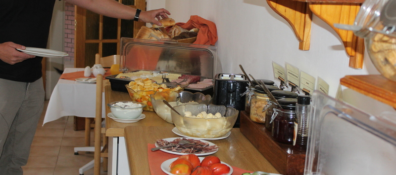 Breakfast Buffet at Hotel Uhland